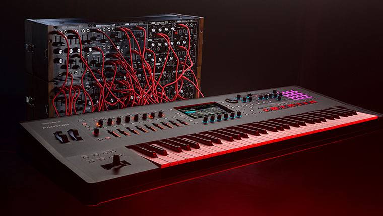 Using Control Voltage with the Roland FANTOM Synthesizer