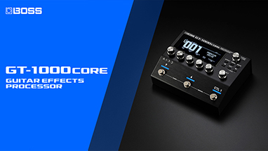 GT-1000CORE Guitar Effects Processor
