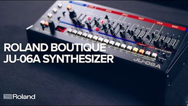 Roland Boutique JU-06A Synthesizer (JUNO-106 & JUNO-60)