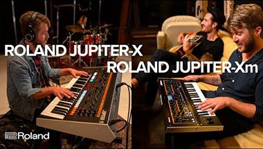 JUPITER-X Series Synthesizers: JUPITER-Xm and JUPITER-X