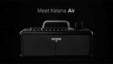 KAKATANA-AIR Totally Wireless Guitar Amp System