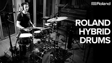 featured-video:Hybrid Drums - Layer Electronic Sounds on Acoustic Drums #1