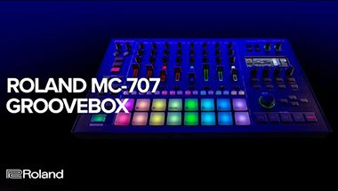 MC-707 GROOVEBOX for Live Electronic Music Producers and Production