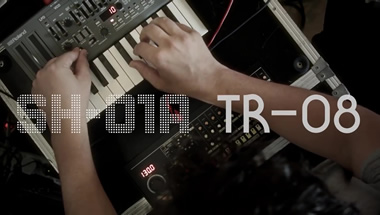 One Take with Roland Boutique TR-08 & SH-01A: Mathew Jonson