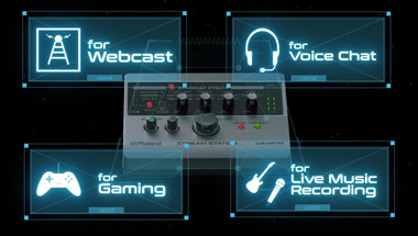 STREAM STATION — USB audio interface for webcasting