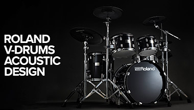 featured-video:V-Drums Acoustic Design
