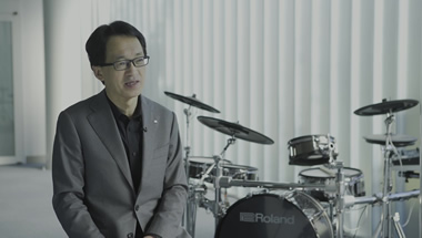 Roland V-Drums 20th Anniversary Special Message from Jun-ichi Miki
