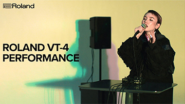 VT-4 Voice Transformer Performance by ermhoi and Teppei Kitano
