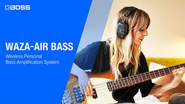 WAZA-AIR BASS - A Breakthrough Bass Experience