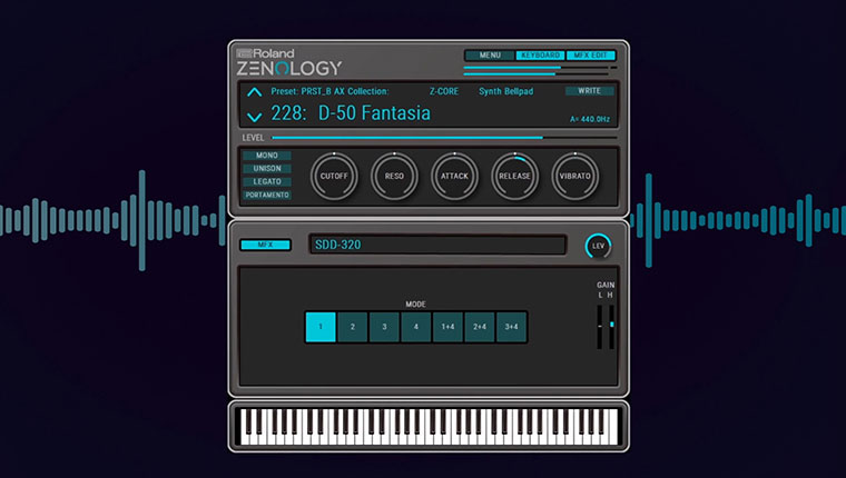 ZENOLOGY Software Synthesizer
