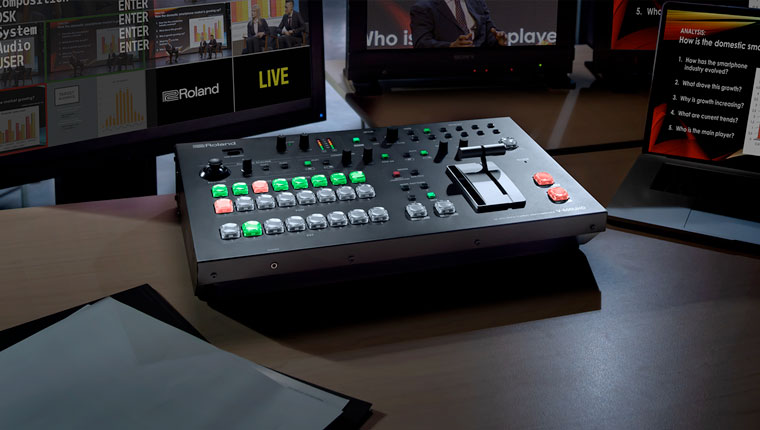 V-600UHD 4K HDR Multi-format Video Switcher