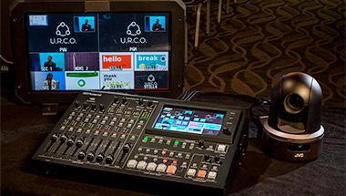 VR-50HD MK II Multi-Format AV Mixer