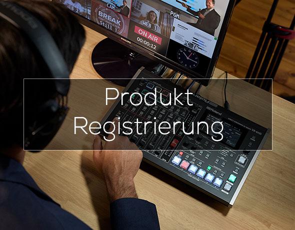 Produkt Registrierung