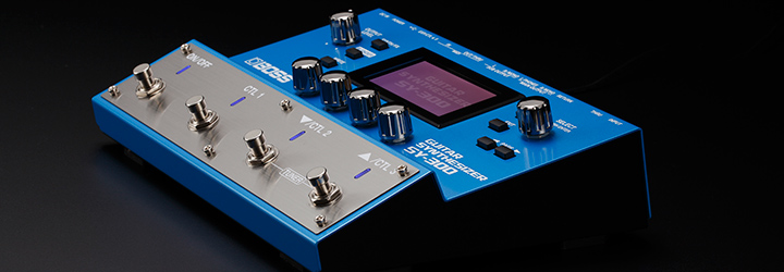 BOSS Guitar Synthesizers