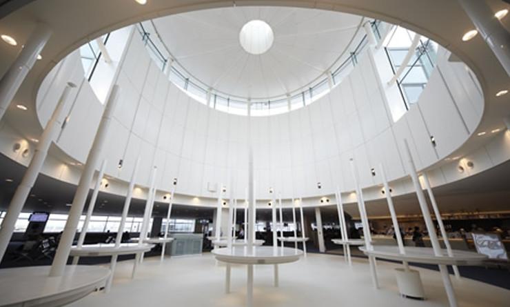 羽田空港第二旅客ターミナルのサウンド・インスタレーション