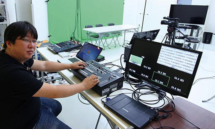 【ローランドAVミキサーの現場】 ネット動画配信用の小規模スタジオを作る