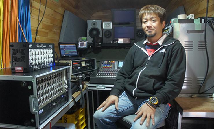 琉球放送が導入したV-Mixing System