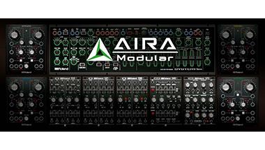 ケーブルをつなぎ合わせることにより自由な音づくりができるモジュラー型シンセサイザー分野に参入