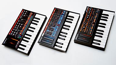 '80年代の代表的なアナログ・シンセサイザーを彷彿とさせる音とデザイン