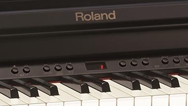 好評の初心者向け電子ピアノに台数限定モデル 『RP401R』黒木目調カラー発売