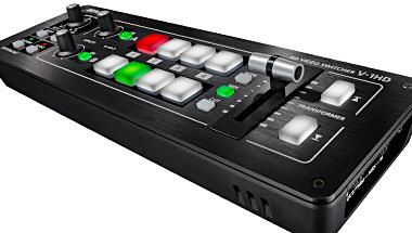 シンプル操作、小型軽量、低価格 ハイビジョン映像の制作/配信に便利なビデオミキサー
