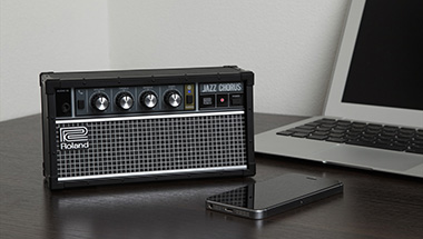 ロングセラーのギターアンプをデザインした卓上型Bluetoothオーディオ・スピーカーを発売