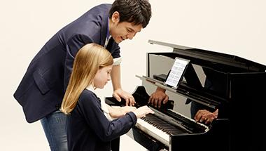 音、鍵盤、音響システム、デザインなど、ピアノの基本性能をすべて一新