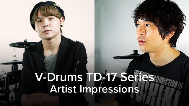 V-Drums TD-17 Artist Impression