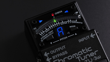 BOSSチューナー「TUシリーズ」のラインアップを拡充