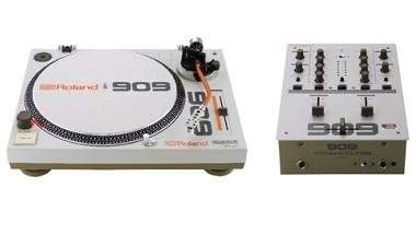 「909 セレブレーション」記念モデル ターンテーブルとDJミキサーを限定発売