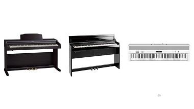 デジタルピアノ新製品3機種を発売  (家庭向けエントリーモデル、スタイリッシュモデル、ポータブルモデル)