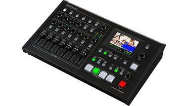 音声と映像の操作を自動化できるAVミキサー発売
