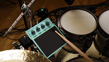 エレクトロニック・ドラムや世界中の打楽器の音色を手軽に演奏できる電子パーカッション4機種を発売