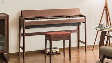 家具仕上げのスタイリッシュなキャビネットに高品位な音源と鍵盤を搭載した国産デジタルピアノの新色を発表