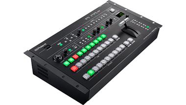 コンサートや講演会など大型イベントでの映像演出に適したプロ仕様の「マルチフォーマット・ビデオ・スイッチャー」を発売
