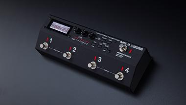 ギタリストの理想の音づくりをコンパクトなシステムで実現する新しいコンセプトの「マルチ・エフェクツ・スイッチャー」発売