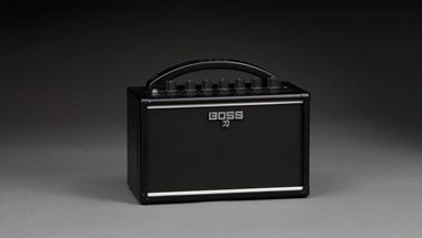本格的なロックギター・サウンドを手軽に楽しめる、電池駆動対応の小型ギターアンプ発売