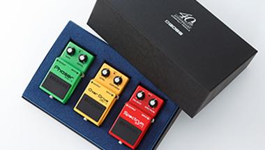 「BOSSコンパクト・ペダル」のデビュー40周年を記念したボックス・セットを発売