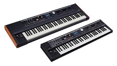 憧れのビンテージ・オルガン、ピアノ、シンセサイザーの音色や機能を一台に集約したライブ演奏用キーボード発売