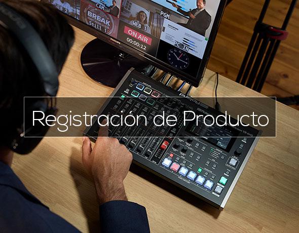 Registración de Producto