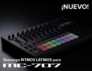 Ritmos Latinos para MC-707