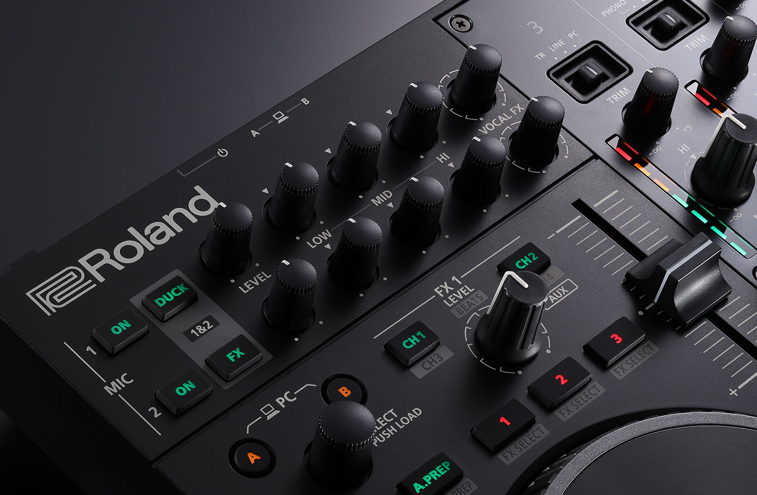 Console-Class Mic EQ and Effects