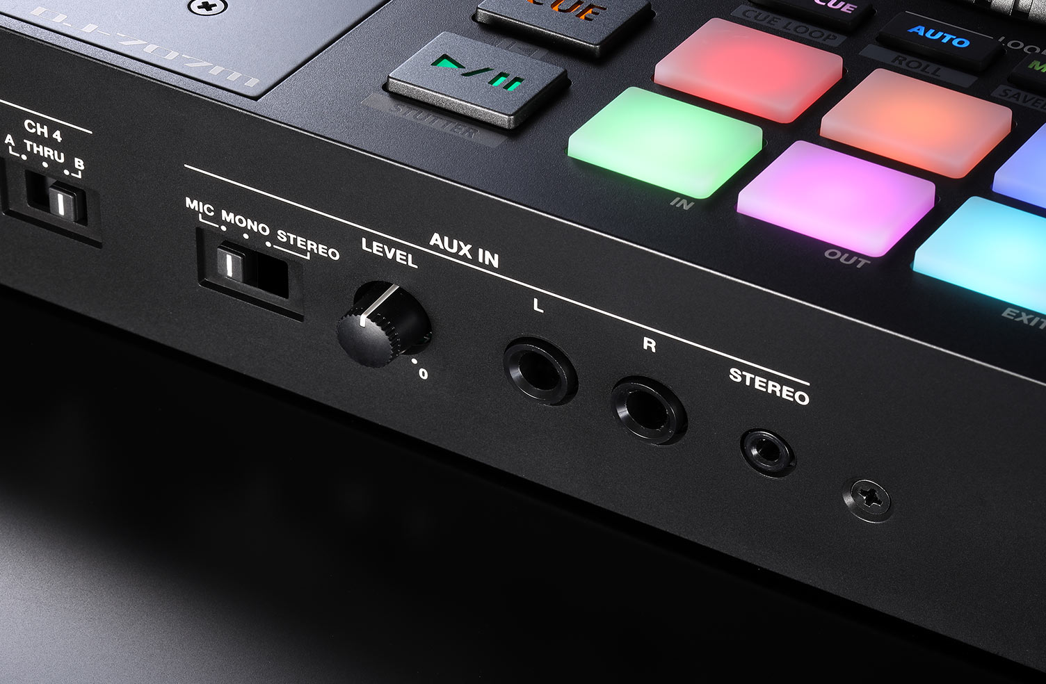 Up to Four Mic Inputs