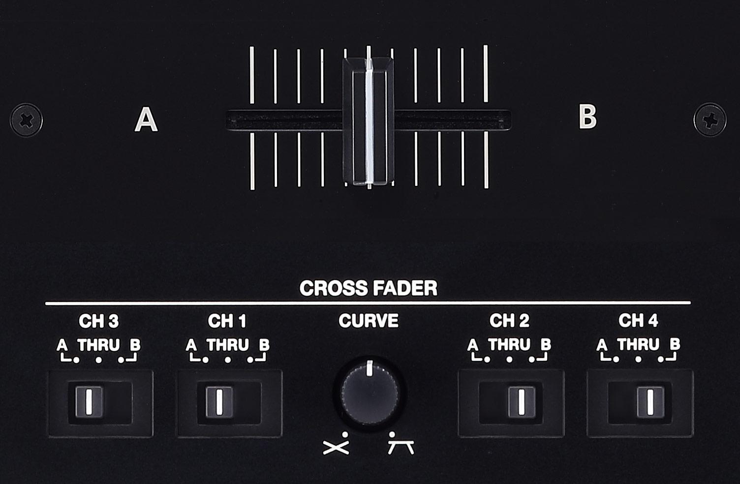 Crossfader entièrement réglable
