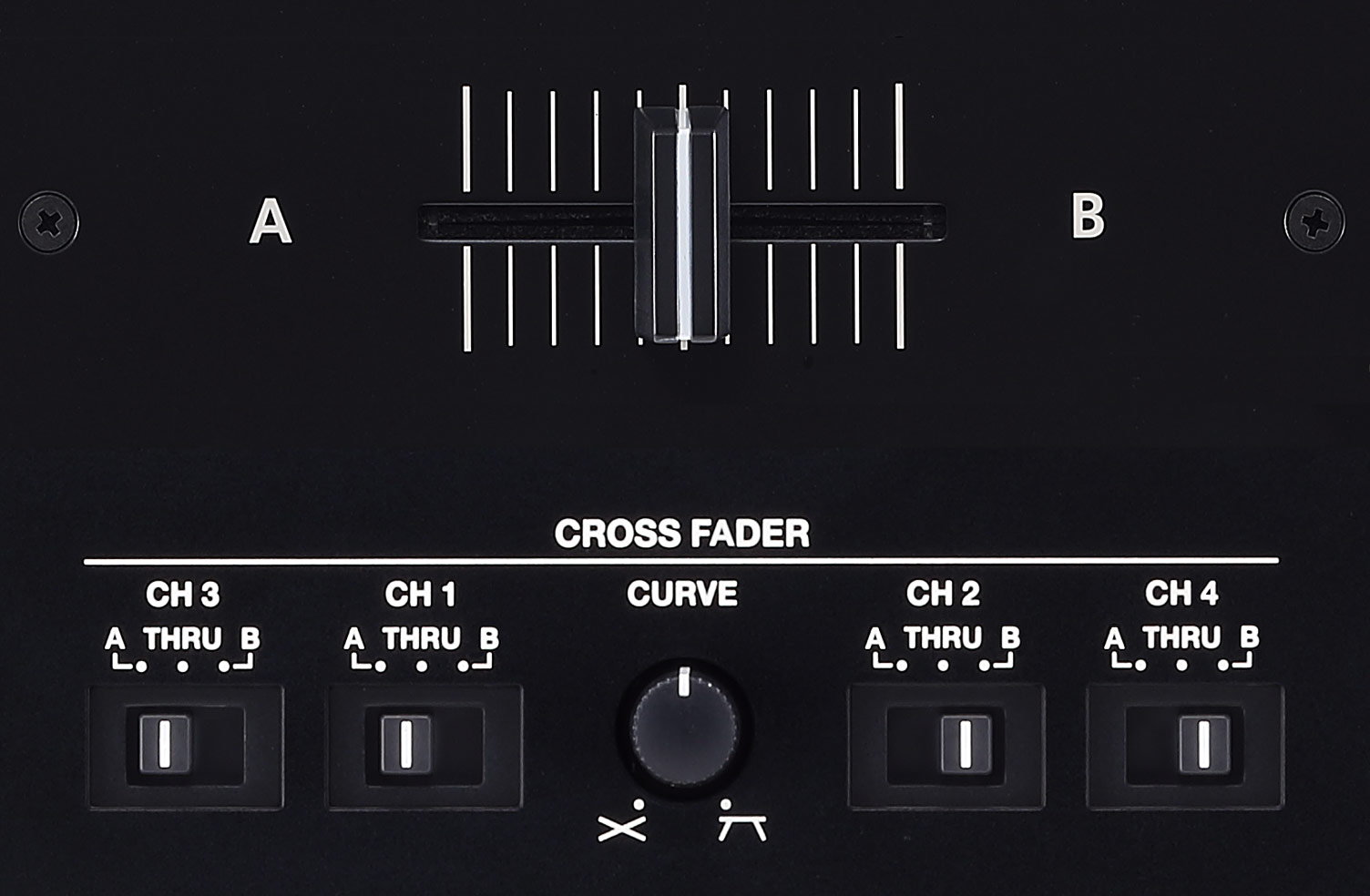 Fully Adjustable Crossfader