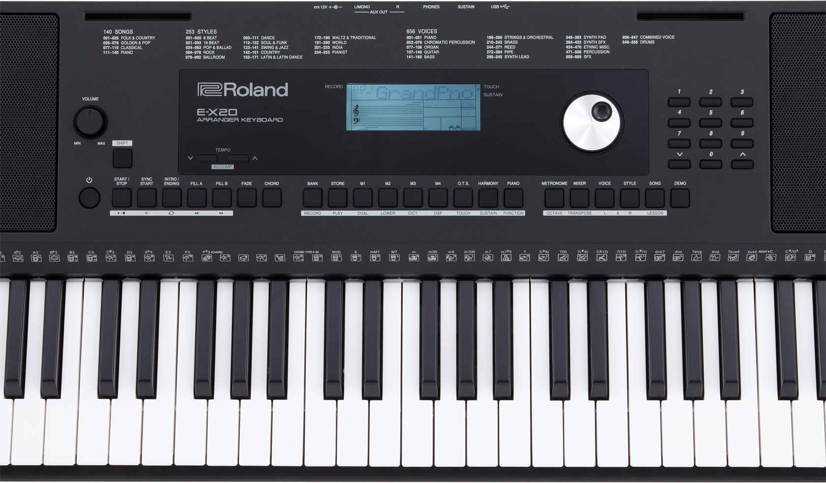 Image result for Roland E-X20 Keyboard