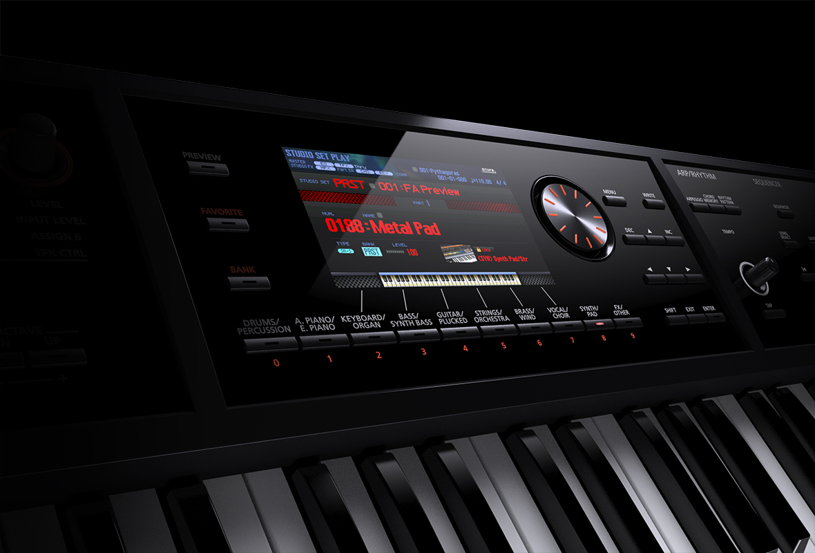 Roland - FA-06/FA-07/FA-08 | Music Workstation