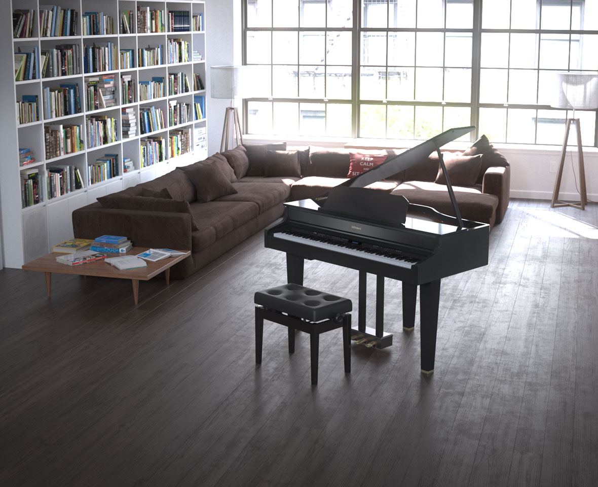 A Mini Grand Piano That Sparks Creativity And Complements Your Living Space