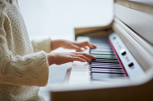 Learn Piano Scales and Rhythmic Sensibilities