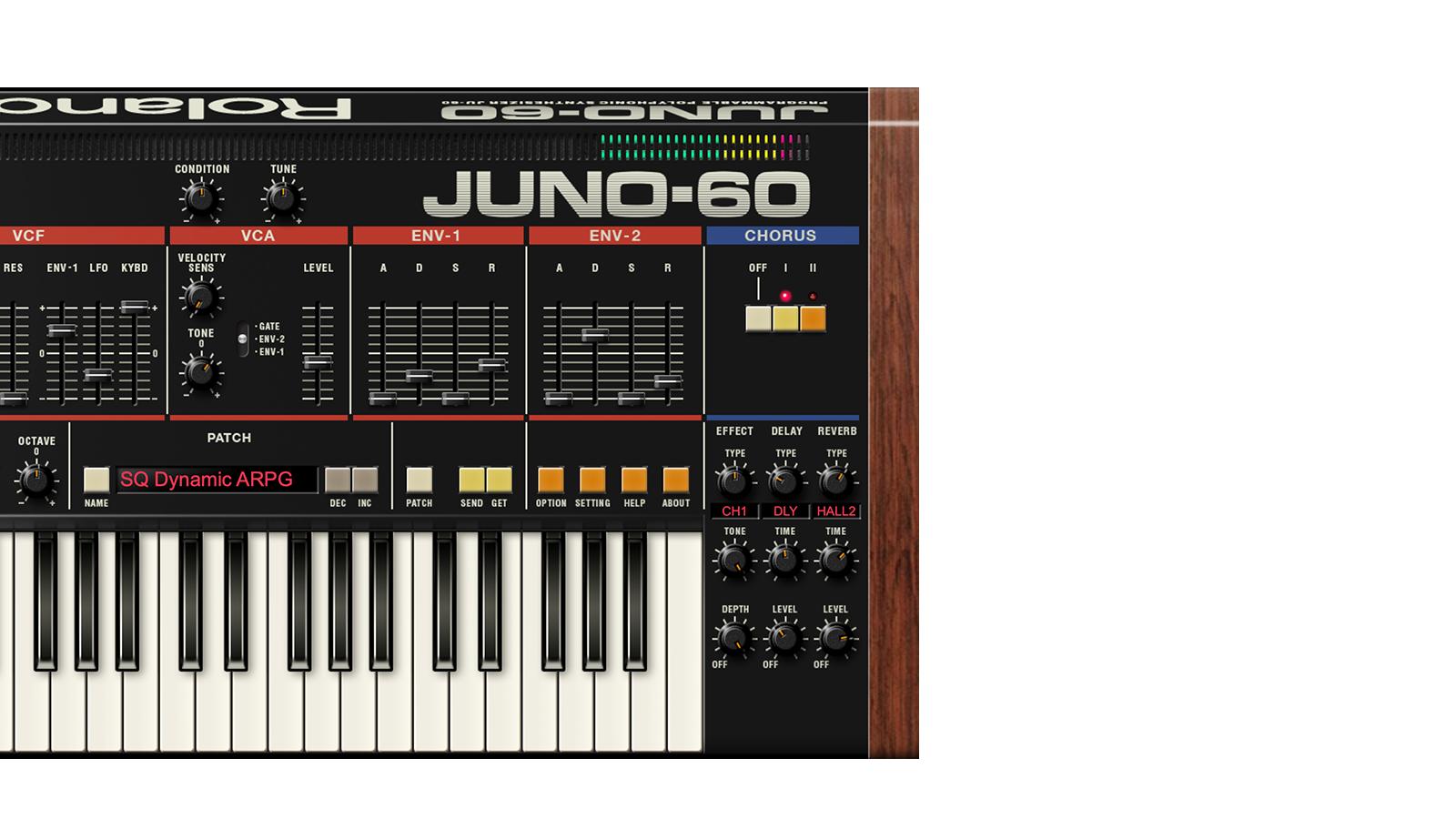JUNO-60 | A chorus of choruses. And more.